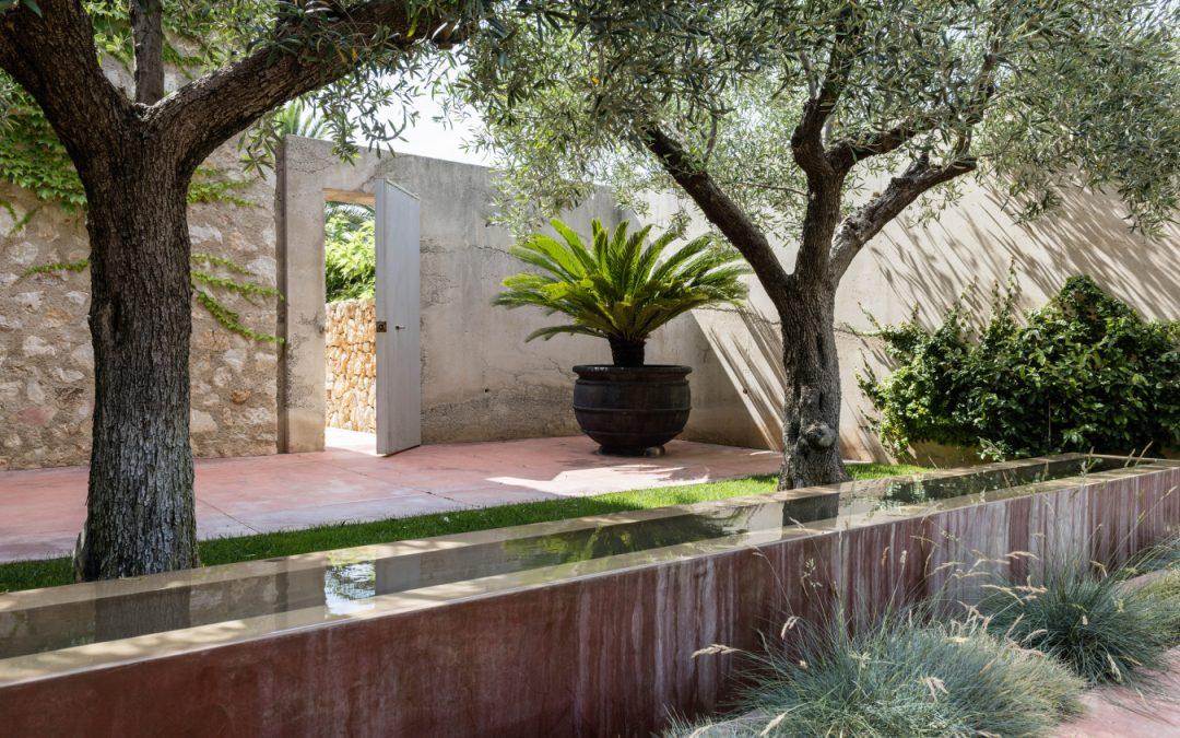 Poolgarten auf Mallorca